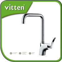 Vitten pull out kitchen faucet mixer high quality deck mounted sink taps 12115