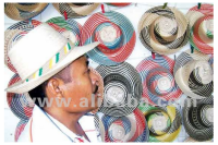Colombian Wayuu Indigenous Handcrafted Straw hats