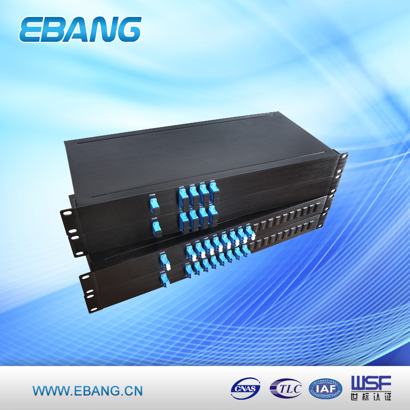 High quality 16 Channel Fiber Optical CWDM