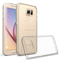 FL3747 Ultra thin Color Soft TPU Transparent Acrylic Combo Case Back Cover for Samsung Galaxy S7 Clear Case