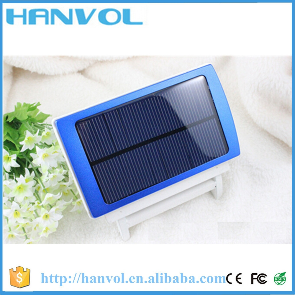 New 2016 10000mah solar charger power bank