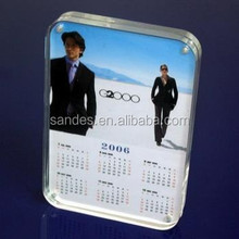 Transparent Acrylic Magnetic Colored Stand Up Picture Frame