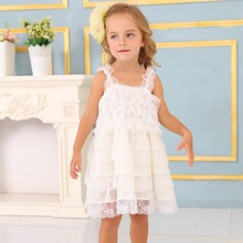 New Summer Baby Girl Toddler Lace Clothing Dress For Infant Floral Princess Children's Dresses kids Clothing