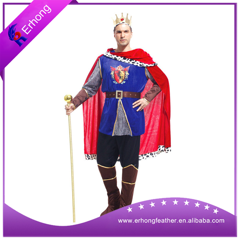 medieval Man's king crown cosplay costume