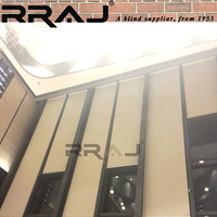 RRAJ Curtain and Window Solar Blind DC Motorized