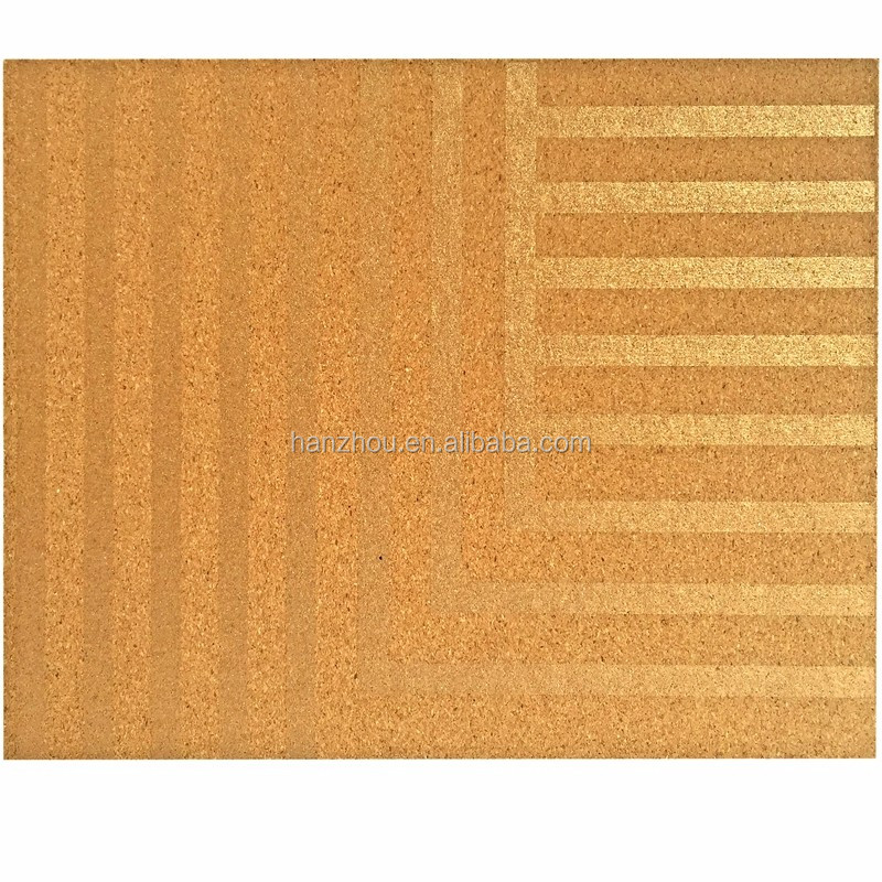 Best price silent waterproof natural cork flooring with high quality