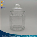 250ml kitchen glass food spice tea coffee sugar storage glass jar with lid