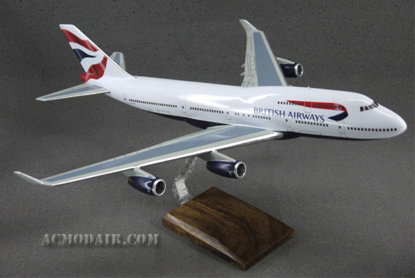 B747-400 British Airways Custom Made