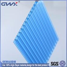 Polycarbonate sheet 10mm 12mm Lexan hollow PC sheet Greenhouse parts