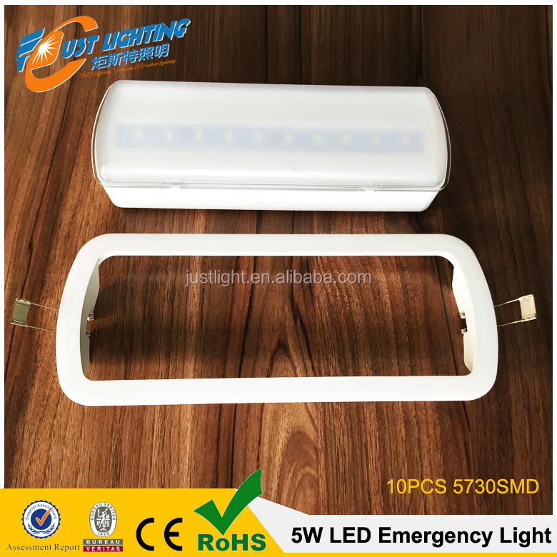 2016 LED Recessed Emergency Lights, 5w LED Emergency Light Luz de LED Emergencia