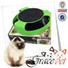Cat Toy With Rotating Mouse Kitten Toy Spinning Mouse With Scratch Pad