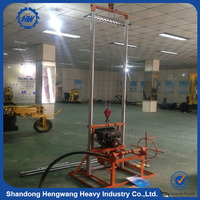 High quality 80m depth HWZG80 tractor mounted water well drilling rig for sale