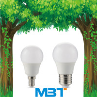 China manufacturing led bulb e27 3w 5w 7w energy saving cheap PC plastic 9w 12w e14 led bulb lighting for home and office mbt