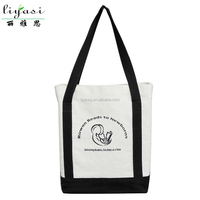 Women S Striped Canvas Tote Shoulder
