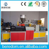 Perfect Running!! Fish Feed Pvc Conical Twin Screw Extruder