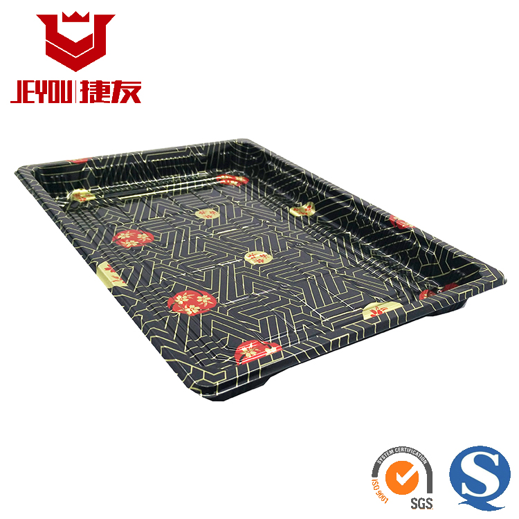 JY1111B Disposable Plastic Sushi Packing Tray Wholesale Plastic Food Containers