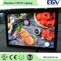 FREE sample available hot sale adjustable double sided photo frame for retail shop special product advertising board