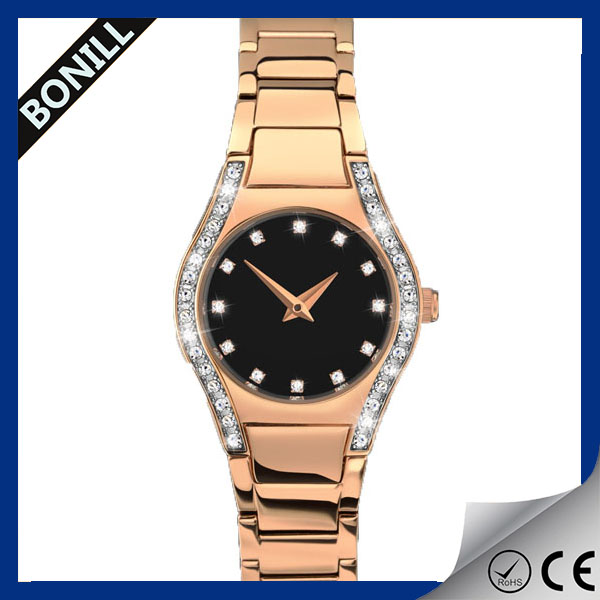 Girls stainless steel watches no name custom logo watches custom logo automatic women watch