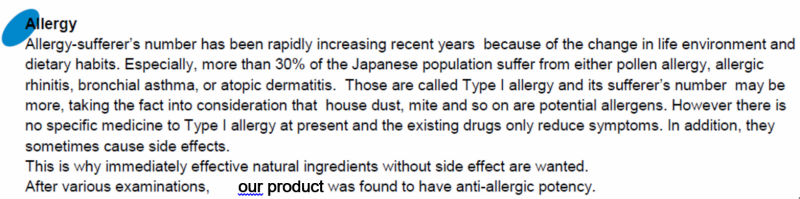 Japanese Rose Petal Extract Powder For Health Foods For Natural Antiallergic, Anti-allergic Ingredient