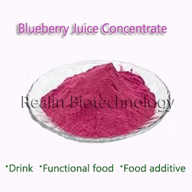Food Additives Bulk Wholesale Blueberry Juice Concentrate <strong>Powder</strong>