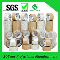 clear and brown bopp packing tape / adhesive packing tape