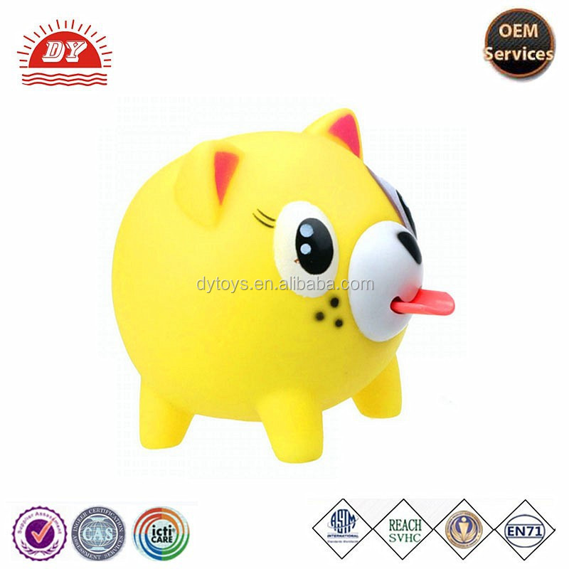 Cute Pig Tongue Animal squeeze toy with tongue