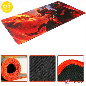 Wholesale custom business office using desk mat rubber material big size thicken mouse pad
