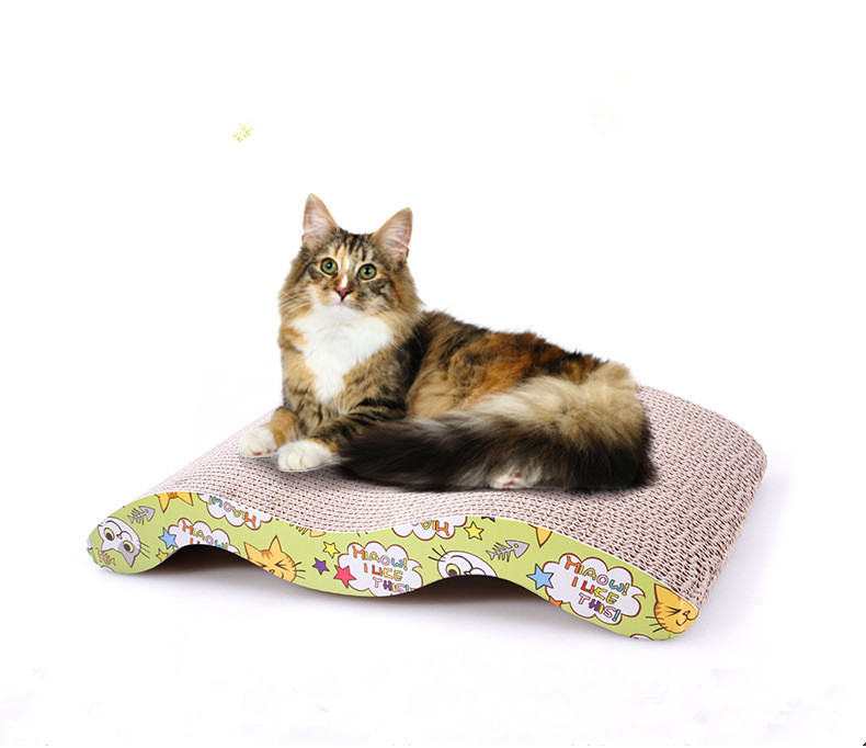 Wholesale Pet Product Corrugated Paper Cat Scratcher / Scratching Post