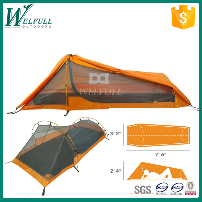 High quality outdoor tunnel bed camping tents