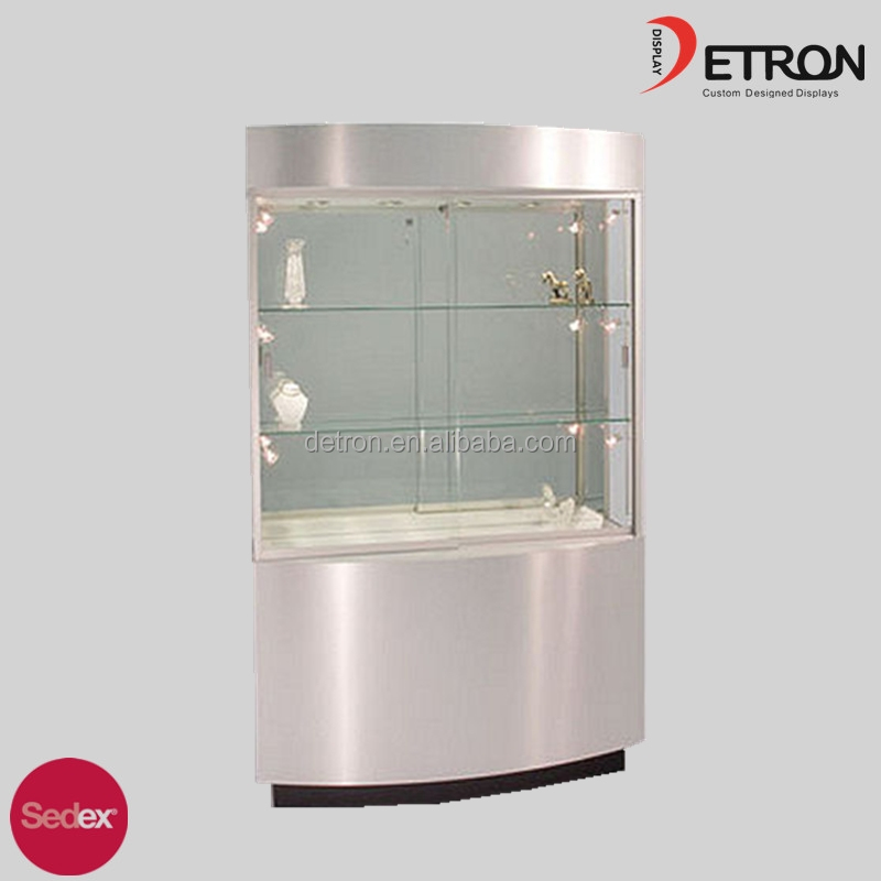 Modern Design Jewelry Display Cases Cabinet Wholesale for Shopping Mall
