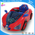 4 wheels classic Spider plastic electric ride on car battery kid toys with remote controll