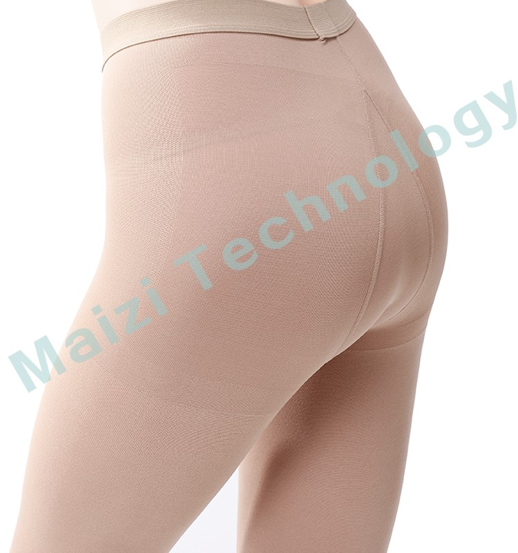 medical compression pantyhose open toe with FDA certificate