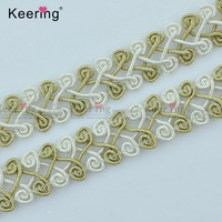 Wholesale braided gimp decorative trim for curtain and sofa WTPF-008