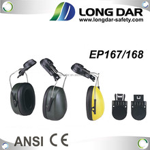 Safety CE Ear muff in working place combine with industrial helmet