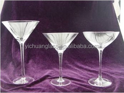 S3 man made crystal Cocktail Glass / Martini glass