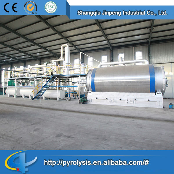Beautiful Hot Sale Recycling Used Tyre to Fuel Oil Plant