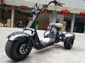 three wheels citycoco 1000w 60v li-battery Three-wheeled Harley electric vehicles