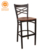 Best Price manufacturer metal bar chair hot sale metal bar high chair