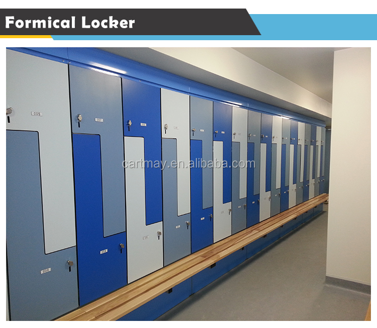 2017 phenolic resin new school/gym hpl compact laminate locker