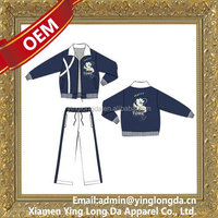 Contemporary hot selling men's tracksuit sweat suit