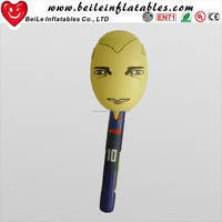 Hard plastic hand inflatable Cartoon hammer for kids