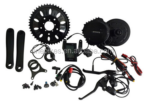 1000w BBSHD mid drive motor kits/bafang electric bicycle parts/8 fun e-bike kit