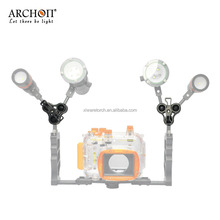 ARCHON Triple Clamps for Underwater Gopro Mounts and Trays Z11