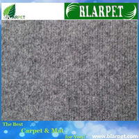 Top quality branded hot sale smoky grey exhibition carpet