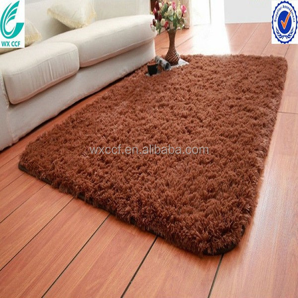 anti-slip microfiber rolling carpets for home
