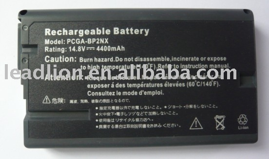 laptop battery for SONY BP2NX,VAIO PCG-GR & PCG-NV series