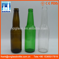DH Ce Certified Wholesale Empty Glass Cheap Amber Blue Green Brown Old 355ml Beer Bottle For Brewing Homebrew Home
