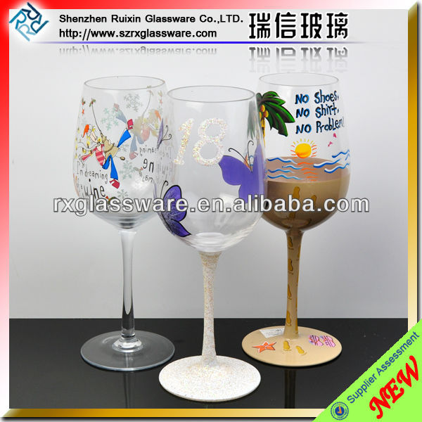 Brand names of red wine glass set
