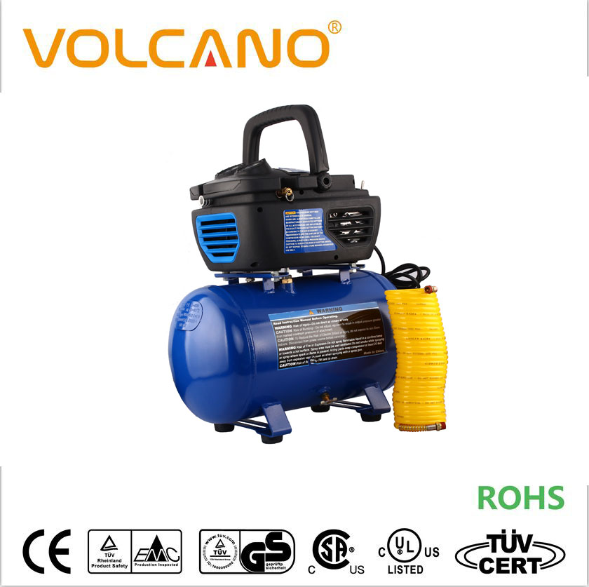 Oil-less design 2HP universal motor compressor UC800 air compressor with 20 liter tank