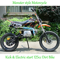 Fashion Kick Start Motorcycle 125CC Dirt Bike Motor Bike for Sale